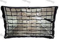 Софтбокс 60x90 см зонтичного типа с сотами
