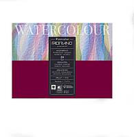 Блок для акварели Fabriano Watercolour Studio 200г/м2 (25%хлопок) 24х18 см Фин 20л склейка по 4 сторонам, фото 1