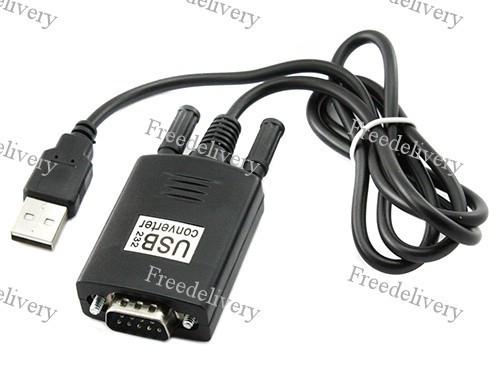 Кабель переходник USB - RS232 DB9 CH340