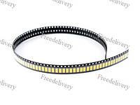 100x 5630 5730 SMD LED 3В 0.5Вт 50-55лм светодиод, теплый белый