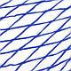 Гамак сетка на кольцах 270х80см Blue, фото 8