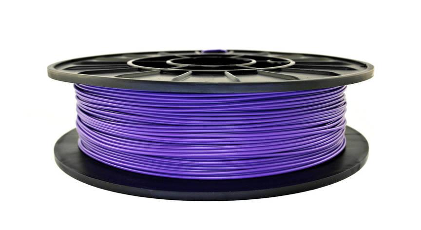 Нить ABS Premium (АБС) пластик для 3D принтера, Фиолетовый (1.75 мм/0.5 кг), фото 2