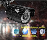 Комплект видеонаблюдения Hiseeu 4ch AHD-1MP 720P Outdoor, фото 4