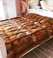 Меховое покрывало из лисицы, фото 1