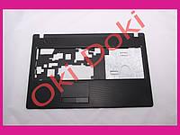 Верхняя крышка для ноутбука Lenovo (G570, G575), black case C plastik version с тачпадом