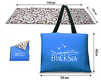 Сумка-коврик  NEW Coverbag XL голубой