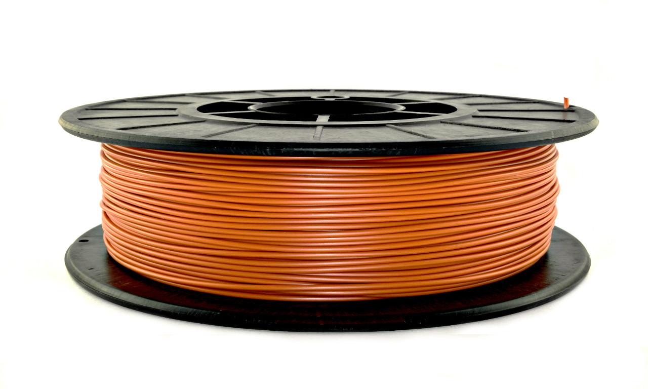 Нить ABS-X (АБС-X) пластик для 3D принтера, Оранжевый (1.75 мм/0.5 кг)