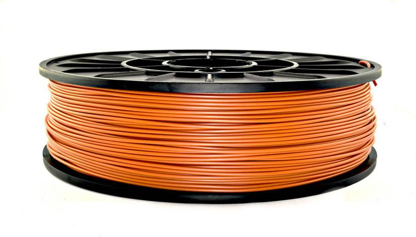 Нить ABS-X (АБС-X) пластик для 3D принтера, Оранжевый (1.75 мм/0.75 кг), фото 2