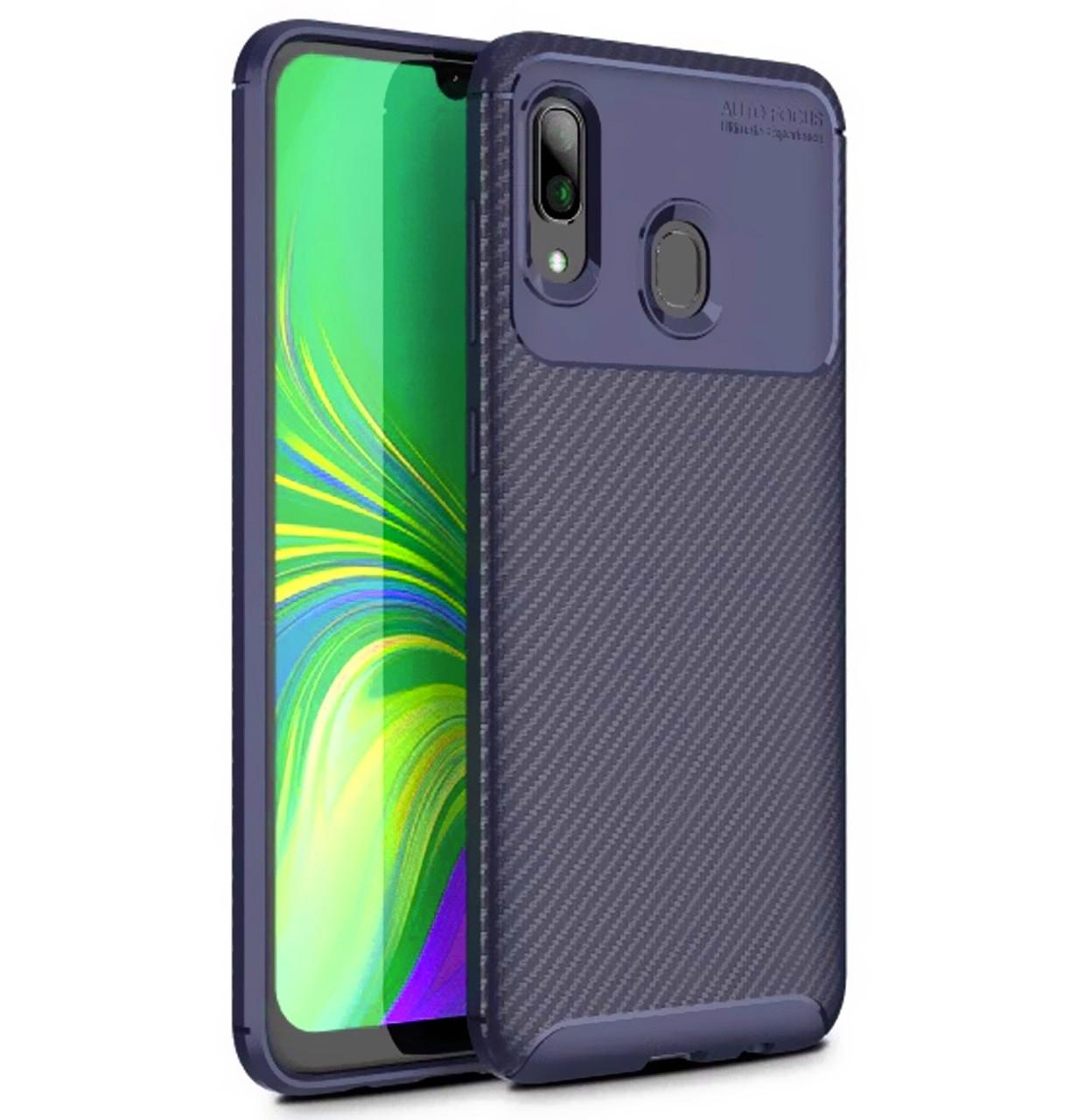 Противоударный TPU чехол iPaky Kaisy Series для Samsung Galaxy A50 (2019) SM-A505F Navy Blue