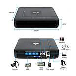 Комплект видеонаблюдения Hiseeu 2ch AHD-2MP 1080P Outdoor (2AHBB12), фото 3