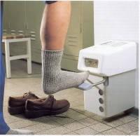 БОДЕ - установка для опрыскивания ступней с целью обработки дезинфектантом ступней