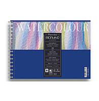 Скетчбук для акварели WATERCOLOUR 21Х13,5 FABRIANO(пружина), фото 1