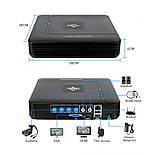 Комплект видеонаблюдения Hiseeu 4ch AHD-2MP 1080P Outdoor, фото 2