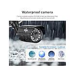 Комплект видеонаблюдения Hiseeu 4ch AHD-2MP 1080P Outdoor, фото 3