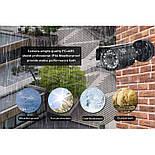 Комплект видеонаблюдения Hiseeu 4ch AHD-2MP 1080P Outdoor, фото 4