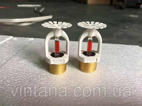 Спринклер пожарный розеткой вверх/розеткой вниз, белый, ZSX, 68 ℃, фото 2