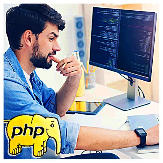 Студент - будущий программист учится на курсах PHP в ИИБТ, Киев
