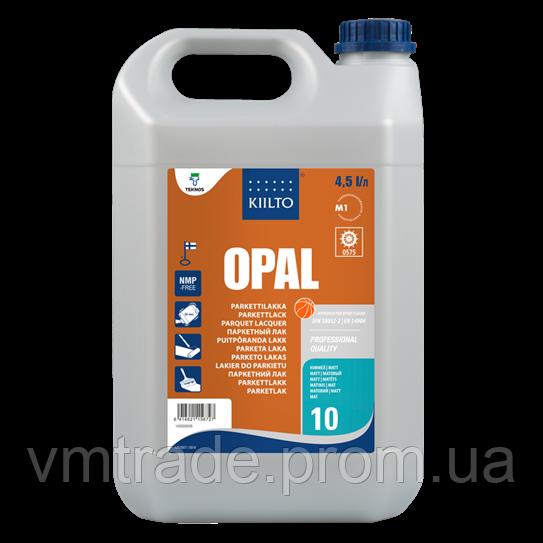 Лак полиуретановый паркетный Киилто, матовый (Kiilto Opal 10)  4,5л+0,5л