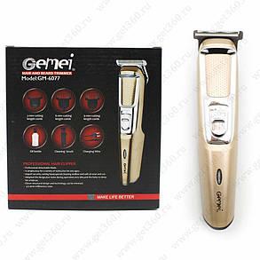 Триммер для волос Gemei Gold GM-6077, фото 2