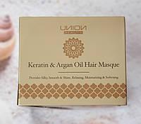 Питательная маска для волос с маслом арганового дерева и кератином Таиланд