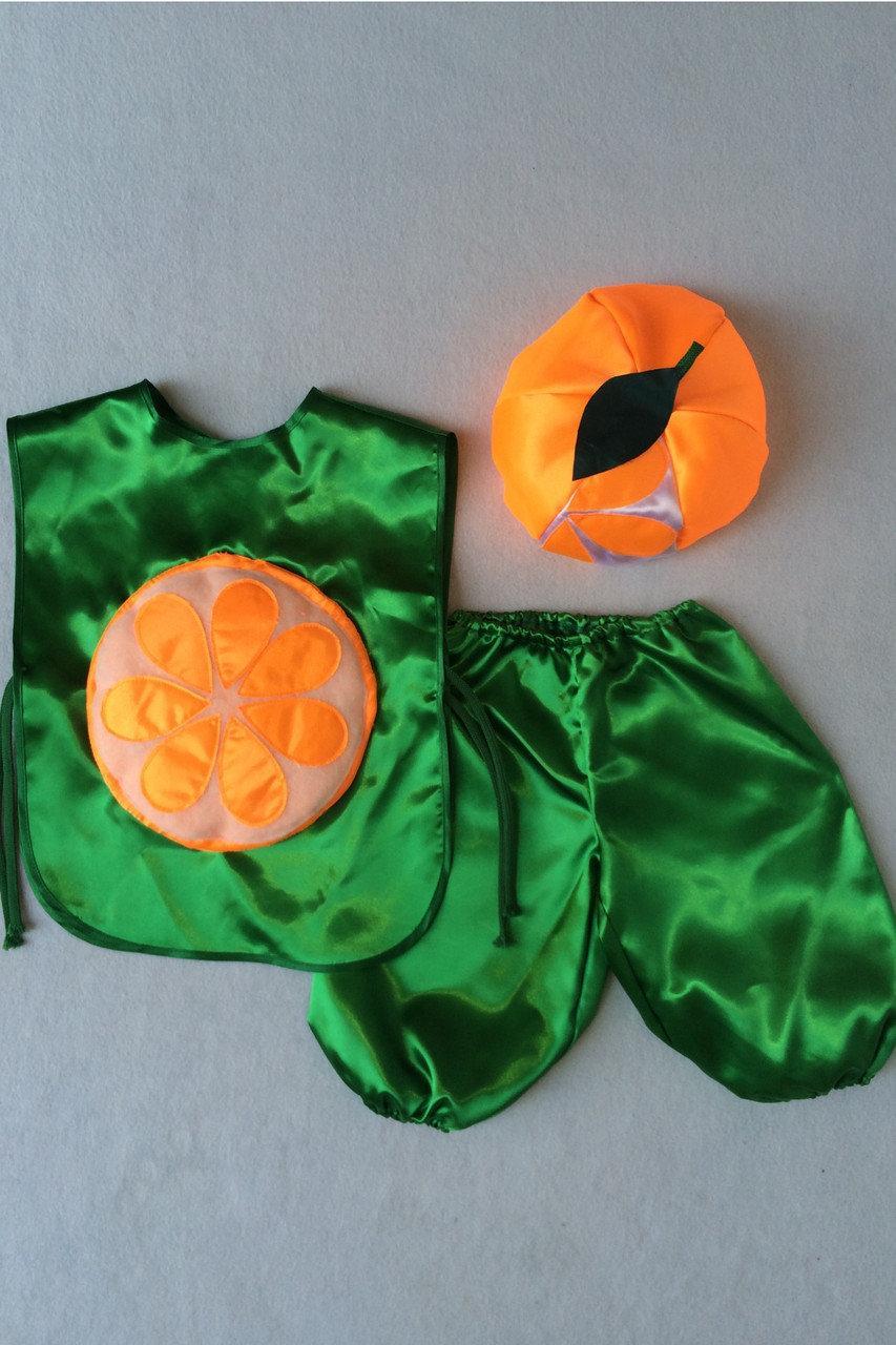 Детский карнавальный костюм Bonita Апельсин №1 95 - 110 см Оранжевый