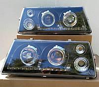 Передние фары ВАЗ 2108-2109-21099 (Чёрные)