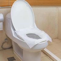 Набор гигиенических одноразовых чехлов на сиденье унитаза (10 шт./пакет)