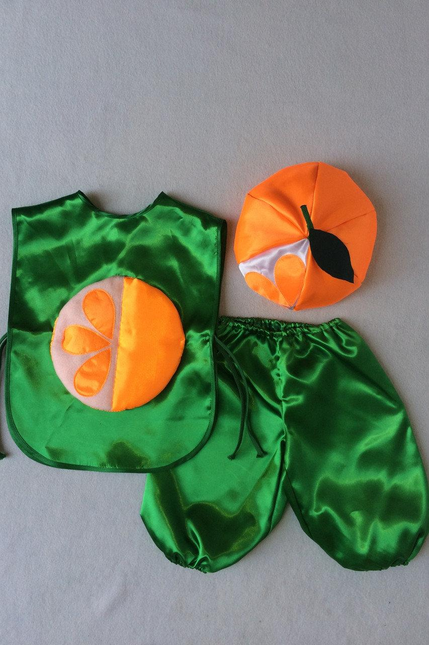 Детский карнавальный костюм Bonita Мандарин №1 105 - 120 см Оранжевый