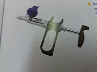 Шприц безперервної діїї тип D з насадкою під флакон 5 мл