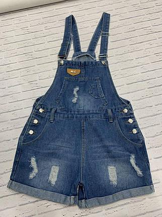 Женский джинсовый комбез, фото 2