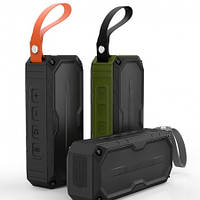 Портативная колонка Bluetooth +FM радио+USB разьём HAVIT HV-M60 , black/orange, фото 1