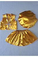 Детский карнавальный костюм Bonita Гриб Лисичка (девочка) 105 - 120 см Желтый, фото 1