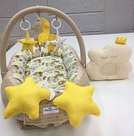 Кокон-гнездышко для новорожденных Happy Luna Единорог 3