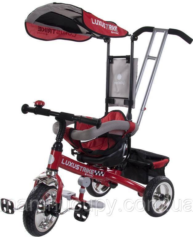 Детский трехколесный велосипед Sun Baby Luxus Trike (XG18819G/CZ) красный