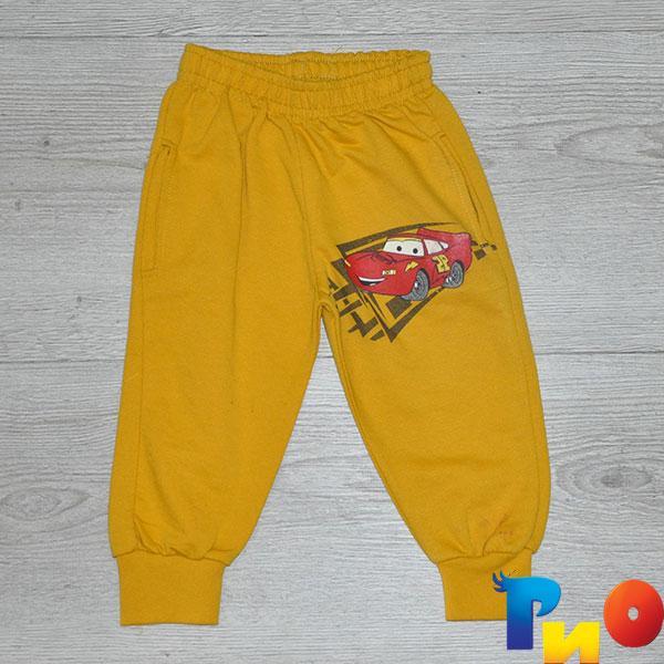 Детские спортивные штаны ,трикотаж, для мальчика ростом 86, 92, 104 см (3 ед в уп)