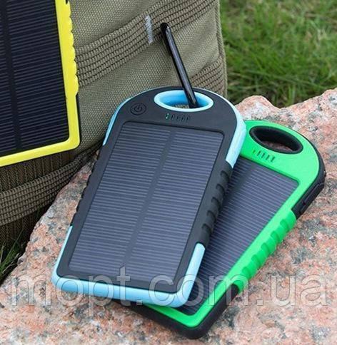 Power Bank Solar Charge 10000 mAh на солнечной батареи внешний Аккумулятор