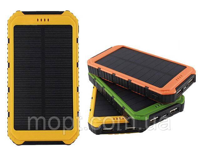 Power Bank Solar 45000 mAh LED солнечный заряд Аккумулятор