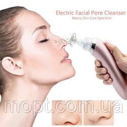Вакуумный очиститель пор лица XN-8030 Beautiful skin care expert Розовый + ПОДАРОК