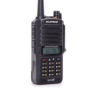 Рация Baofeng UV-XR 10W, IP67 переносная радиостанция.