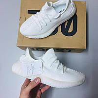 Женские Кроссовки Adidas Yeezy Boost 350 V2 Белый Адидас Изи буст 350.