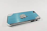 Чехол Алюминиевый Iphone 5 5S SE со стразами