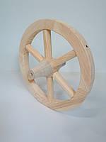 Колесо деревянное от телеги 40 см, двухстороннее