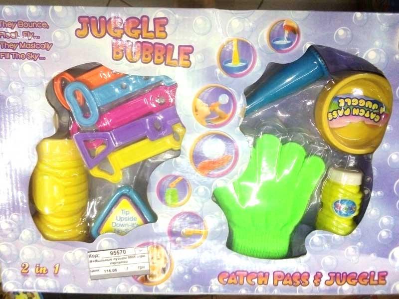 Мыльные пузыри 0606 игра, перчатки