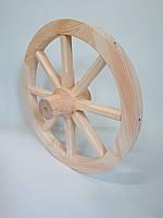 Колесо деревянное от телеги 60 см