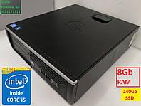 Компютер ПК HP Compaq 8200 Elite Intel Core i5 2400 8Gb Ram 240Gb SSD DVD s1155