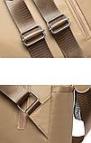 Рюкзак-сумка женский коричневый, фото 7