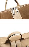 Рюкзак-сумка женский коричневый, фото 8