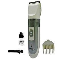 Триммер для бороды машинка для стрижки GM-721, фото 3