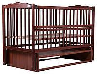 Кровать Babyroom Веселка маятник, откидной бок DVMO-2  бук тик, фото 1