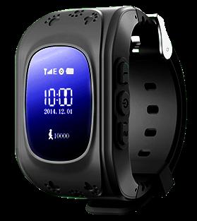 Детские телефон-часы с GPS трекером Smart Watch Q50 Black